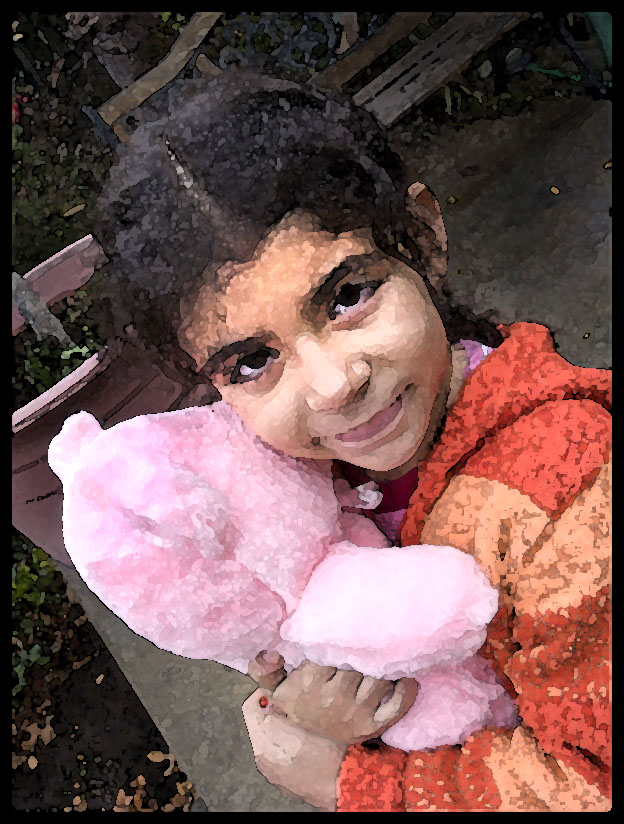 Girl with Pink Teddy copy